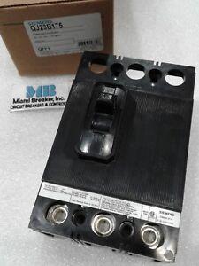 QJ23B175 Siemens Molded Case Circuit Breaker 3 Pole 175 Amp 240V NEW!