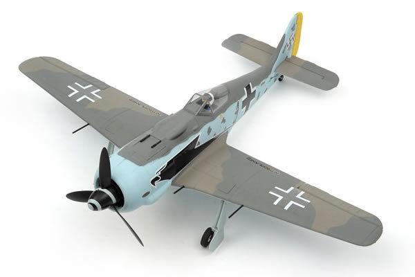Dynam Focke Wulf FW190 1270mm med retractes no Tx Rx Bat Cgg