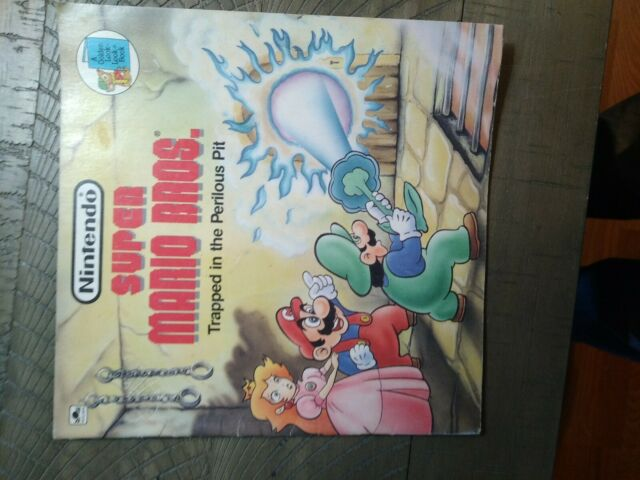 Golden Coloring Book 3252 Vintage Super Mario Bros For Sale Online EBay