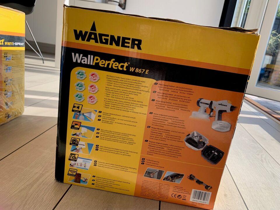 Næsten nyt Wagner Sprøjtesystem, Wagner Wallperfect