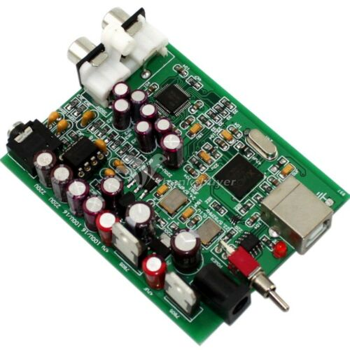 Asynchronous DC9V DAC SU0 XMOS U8 AK4490 USB DAC Decoder Voltage Decoding Board