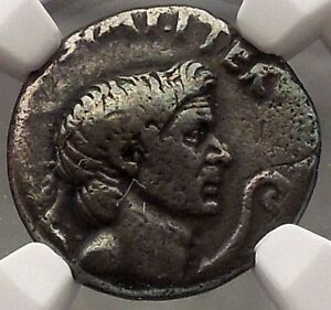 Julius-Caesar-Enemy-Pompey-the-Great-son-Sextus-NGC-VF-Silver-Roman-Coin-i57690