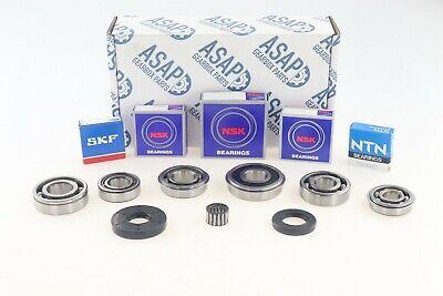 VW Touran 1.6 inj /& 2.0 EcoFuel 0AH Gearbox Bearing /& Seal Rebuild Kit 2004/>