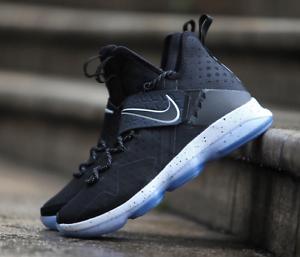 Nike LeBron 14 XIV Black Ice Size 10. 852405-002 mvp ghost bhm kith