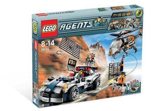 Lego  Agents 8634 Turbovoiture Chase neuf scellé  jusqu'à 42% de réduction