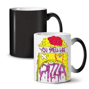 Smell Like Pizza Food NEW Colour Changing Tea Coffee Mug 11 oz | Wellcoda