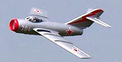 1/7 Scale Russian Mikoyan-Gurevich MiG-15 Plans, Templates, Instructions