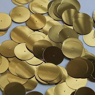 20mm Cup Sequins Gold Metallic Made in USA
