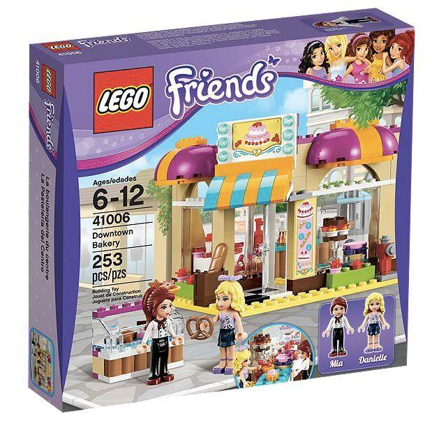 Lego ® Friends 41006 Heartlake panadería nuevo embalaje original _ Downtown Bakery New misb NRFB