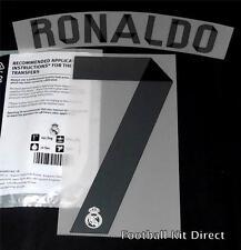 Official Real Madrid Ronaldo 7 La Liga Football Shirt Name Set 2014/15 Home