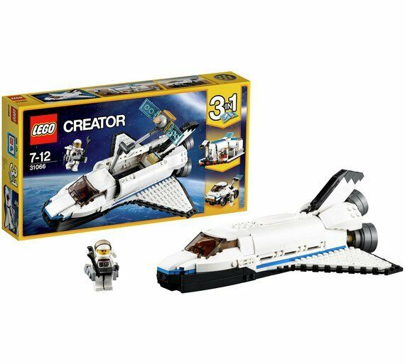 LEGO Creator Space Shuttle Explorer Opening Payload Bay Robotic Arm 31066 NEW_UK