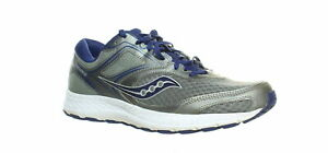 Saucony-Mens-Cohesion-12-Gray-Running-Shoes-Size-10-5-1253408