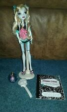 Monster High 1st First Wave Lagoona Blue Doll Complete with Book, Pet Neptune
