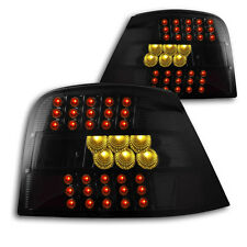 "Tuning Klarglas LED Rückleuchten Golf 4 ""Black-Design"", Tiefschwarz! Look! NEU!"