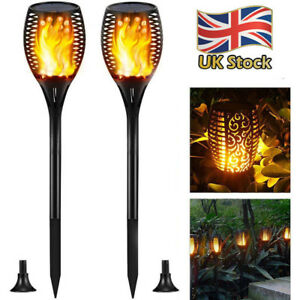 True-Flame-Solar-Torch-Light-Warm-white-LED-Flickering-Stake-Outdoor-Garden-Lamp