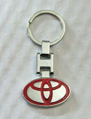 For PORSCHE Metal Chrome Emblem Style Keychain Key Fob Ring
