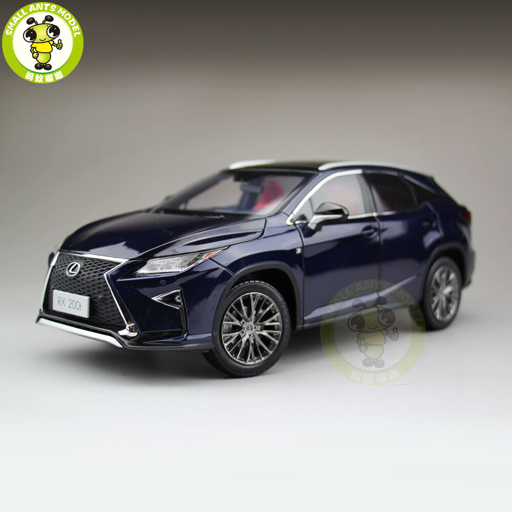 1 18 Toyota Lexus RX 200T RX200T Diecast Model Car Suv Boy Girl Gift bluee color