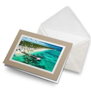 Greetings-Card-Biege-Punta-Cana-Dominican-Republic-Beach-16248