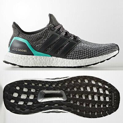 Adidas Ultra Boost 2.0 Herren Laufschuhe Grau Mint aq5931 Ultraboost Größen 7 14 | eBay
