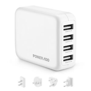 4-USB-Multi-Port-Hub-5V-2-4A-Portable-Home-Wall-Charger-Power-Adapter-For-phone