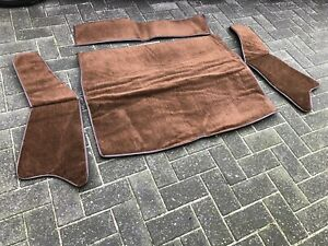 MGB-GT-BOOT-CARPET-SET-DARK-BROWN-CARRELLI-WITH-Sound-ProofBACKING-1966-TO-1980