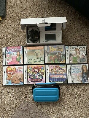 Nintendo Dsi With 8 Games Case Original Box And Manuals Great Shape Ebay