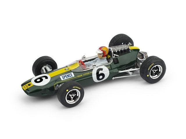 Lotus 33 Gp Inghilterra 1965 4° Mike Spence +Pilota F1 Brumm 1 43 R591-CH