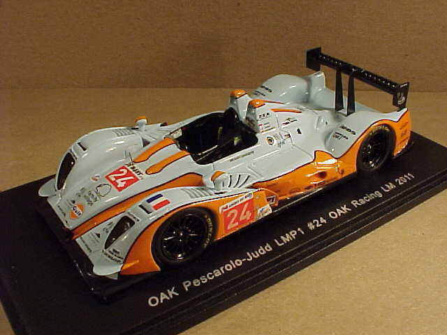 Spark  S2524  1 43 Resin OAK Pescarolo-Judd LMP1, 2011 LeMans, Gulf,