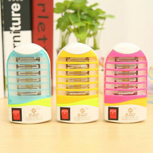Home-LED-Electric-Mosquito-Insect-Killer-Lamp-Fly-Bug-Trap-Zapper-Night-USA-Plug