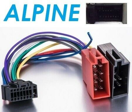 Cable ISO Alpine CDE-113BT