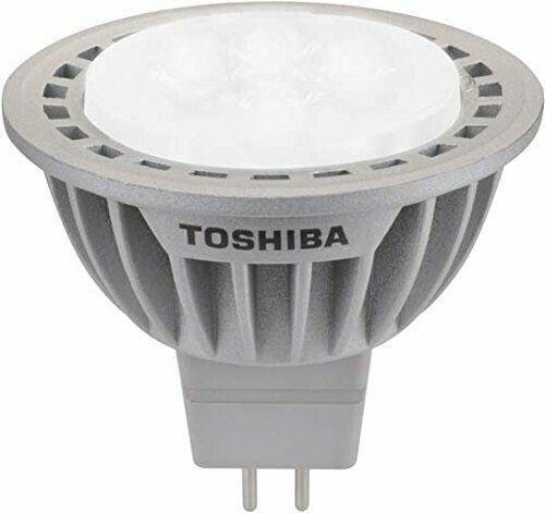 10 X Toshiba DEL réflecteur mr16 e-Core 6,5 W gu5.3 4000k Neutralweiß 36 º variateur