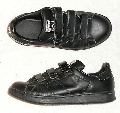 ADIDAS STAN SMITH basses cuir noir P 38 23 TBE   eBay