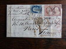 ETATS UNIS USA United States of América Old Stamps  Nice letter Voir 3 scans
