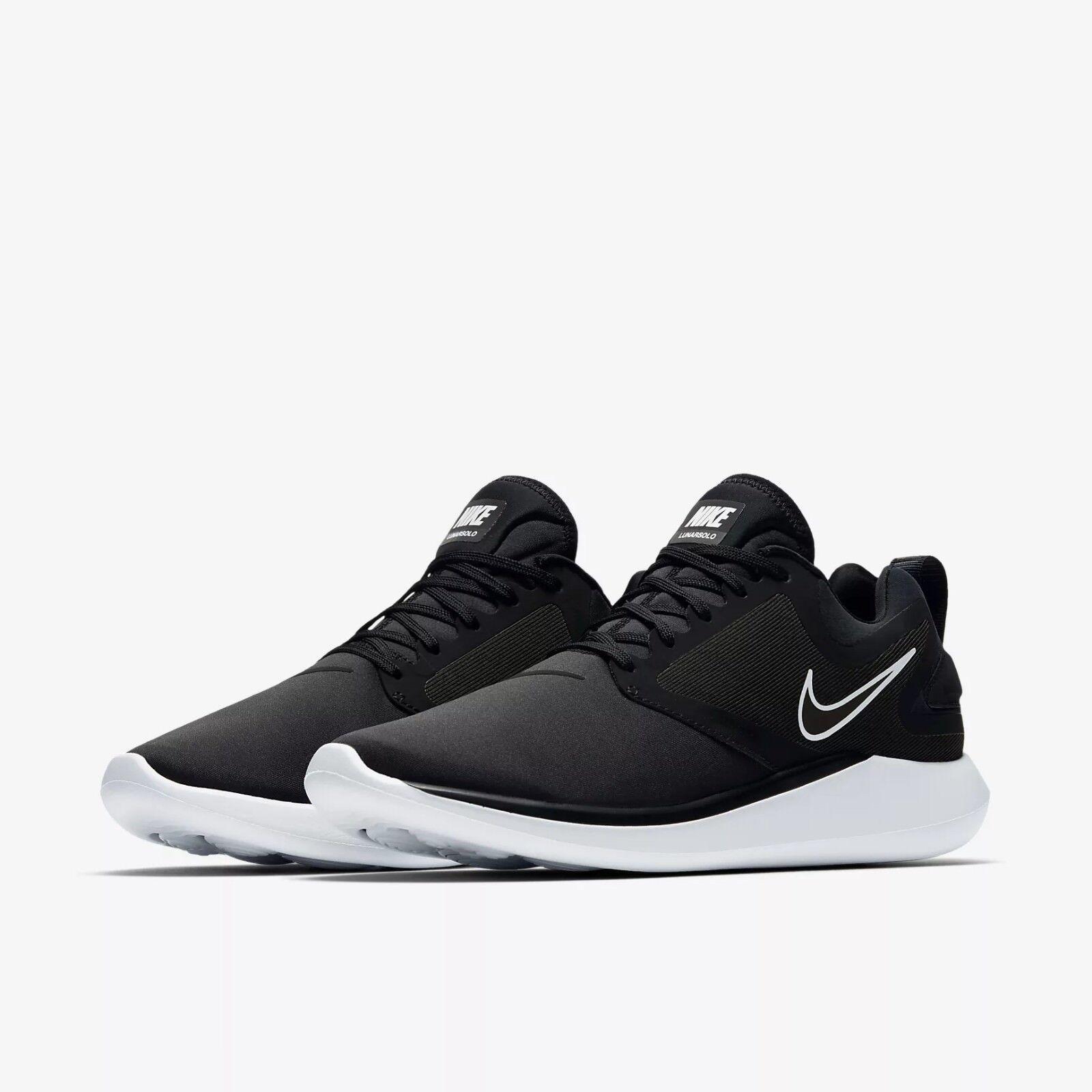 AA4079-001 Nike Lunarsolo Running shoes Black White Sizes 8-13 8-13 8-13 New In Box 90eb92
