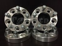 Wheel Spacers 1 Aluminum Adapters Set 4 5 Lug Bolt Hub 5x4.5 Fit Bronco 82-90