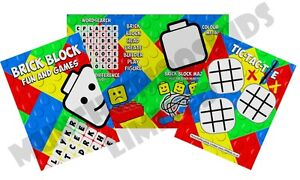 Pack-of-12-Brick-Block-Fun-and-Games-Activity-Sheets-Party-Bag-Fillers