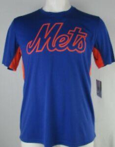New-York-Mets-MLB-Hands-High-Men-039-s-Blue-Short-Sleeve-T-Shirt