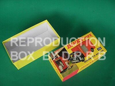 Dinky #450 Bedford TK Caja van Castrol Caja de reproducción por drrb
