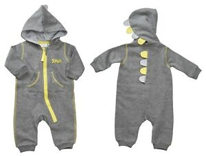 good quality new product sports shoes Babies Novelty Dinosaur All In One Tracksuit | eBay