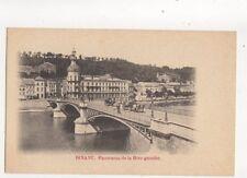 Dinant Panorama de la Rive Gauche Belgium Vintage U/B Postcard 287b