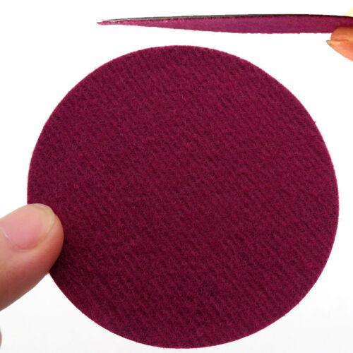 """10 X 75mm 3/"""" Sanding Discs 60-3000 Grit Orbital Sander Sandpaper Hook//Loop Pads"""