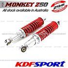 KDF REAR SHOCK ABSORBER SHOCKIE RED SPRING 285MM FOR HONDA MONKEY Z50J Z50R Z50