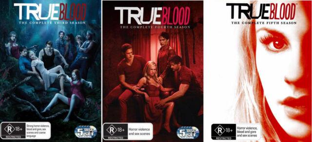 True Blood Season 3 4 5 : NEW DVD