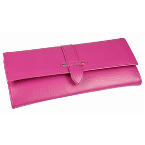 Boutique bright pink jewellery roll new ladies gift 17391 image is loading boutique bright pink jewellery roll new ladies gift negle Image collections