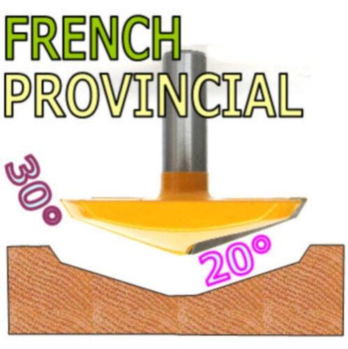 """1pc 1//2/""""SH 2-3//4/"""" Dia French Provincial plongeant soulevé Panneau Routeur Bit sct-888"""