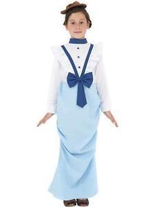 DÉGUISEMENT POUR ENFANT FILLE CHIC ÉPOQUE VICTORIENNE costume NEUF ... 935039345f2