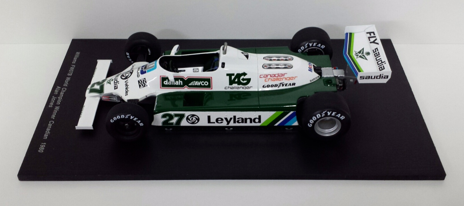 SPARK 1 18 MODELLINO F1 WILLIAMS FW 07B ALAN JONES WORLD CHAMPION 1980 - 18S117