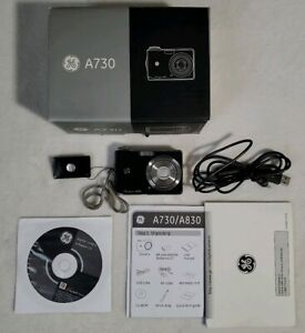 GE Smart Series A730 7.0MP Digital Camera - Black Excellent condition in box