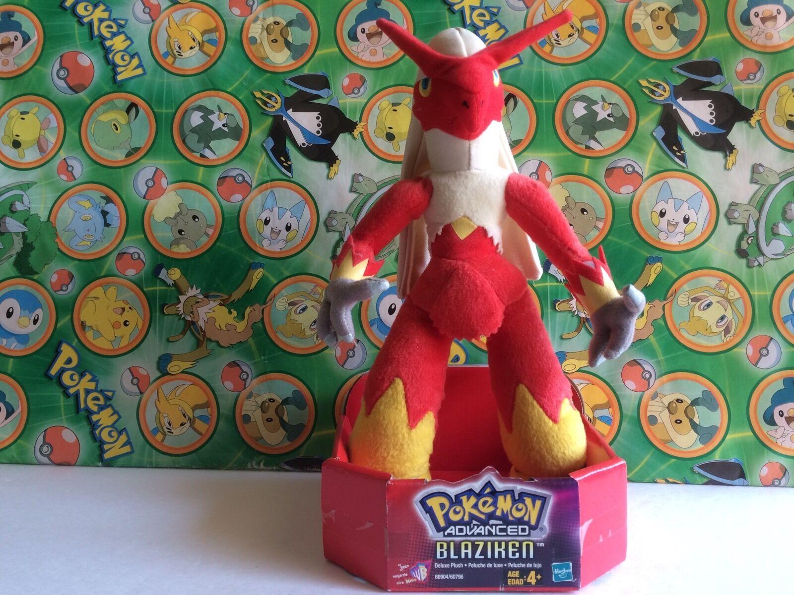 Pokemon Plush Blaziken Deluxe 11