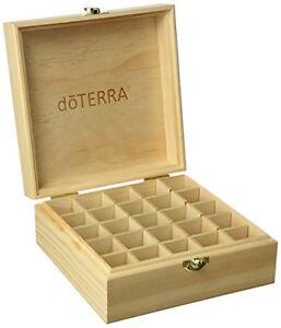 doTERRA-Essential-Oils-Wooden-Storage-Box-Engraved-with-Logo-BNIB